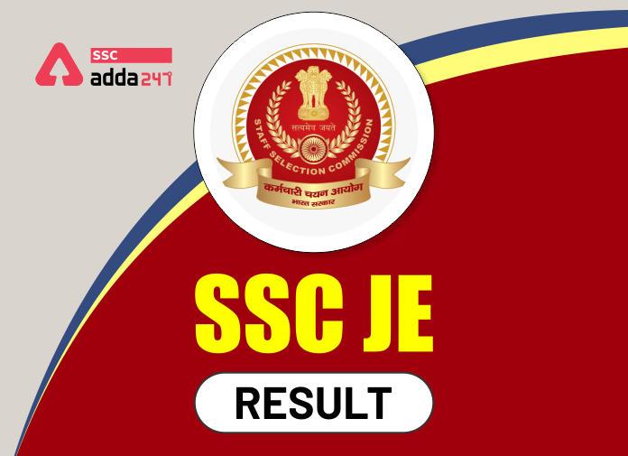 SSC JE Result Out: Check Junior Engineer TIER I Result Details_40.1