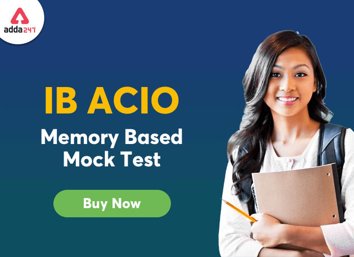 IB ACIO Grade-II Memory Based Paper: Buy Now_40.1