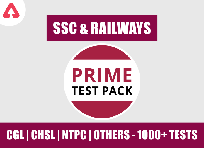 SSC & Railway Prime Test Pack For SSC, Railways & Other Govt. Exams 2021-22_40.1