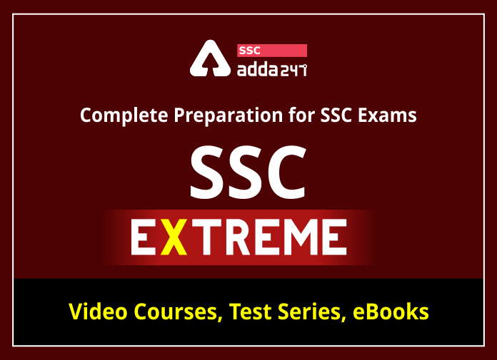 SSC EXTREME: Complete Preparation Kit for SSC Exams_40.1