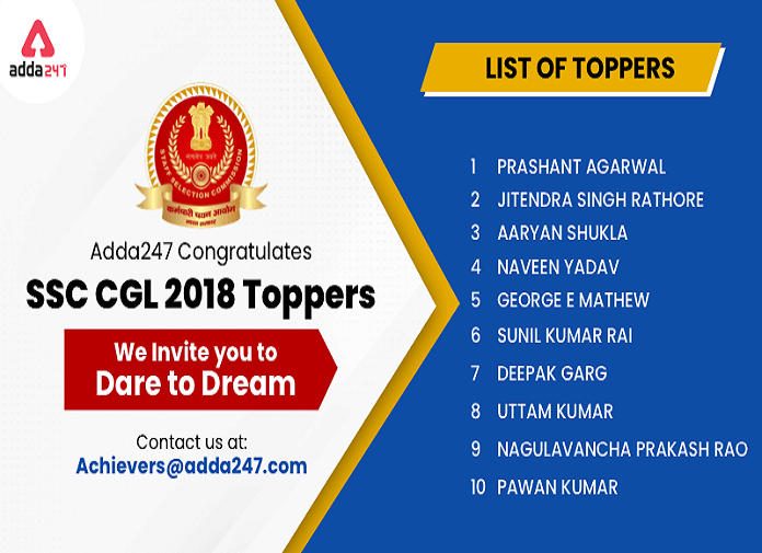 Dare to Dream : SSC CGL 2018 Toppers_40.1