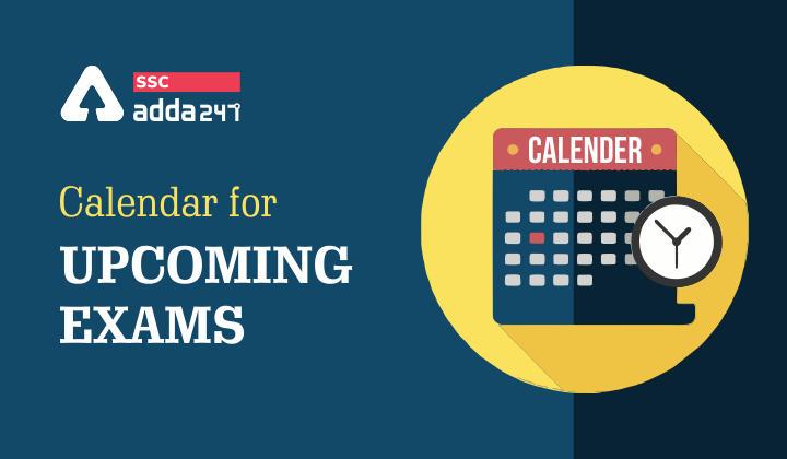 Calendar 2021 : Calendar For Upcoming Exams 2021-22_40.1