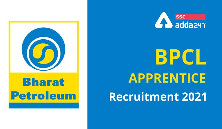 BPCL Apprentice Recruitment 2021 : Bharat Petroleum Corporation Limited_40.1