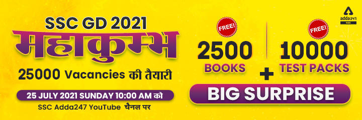 Biggest Giveaway Event on SSC Adda for SSC GD_40.1