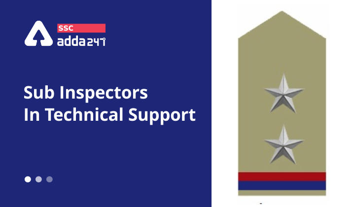 Recruitment of Sub-Inspectors : Technical Support & Services_40.1