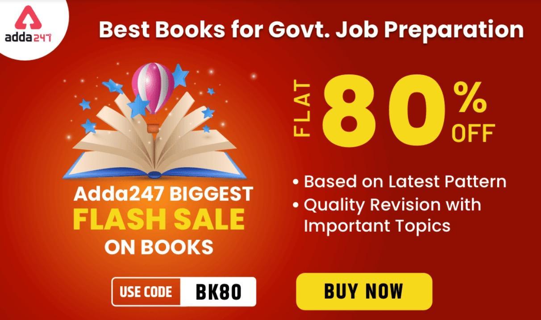 Adda247 Biggest Flash Sale on Books & eBooks: Flat 80% Off_40.1