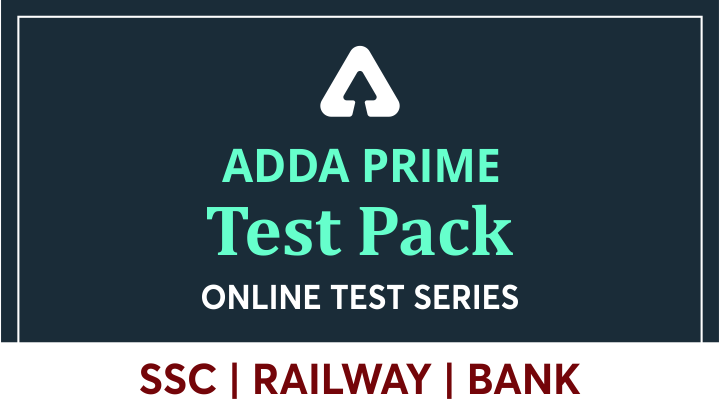 Adda Prime Test Pack: Flat 80% Off only for Today | Code: PRAC80_40.1