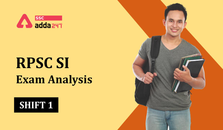 RPSC SI Paper 1 Exam Analysis 15 September 2021 : Download RPSC SI Hindi Paper_40.1
