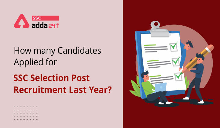 How many Candidates applied for SSC Selection Post Recruitment Last Year?_40.1