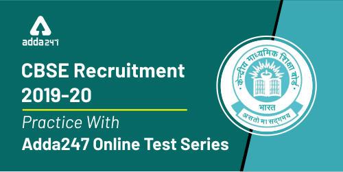 CBSE Recruitment | Practice With Adda247 Online Test Series_40.1