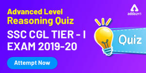 Reasoning Quiz [Advanced level] For SSC CGL : 28th December_40.1