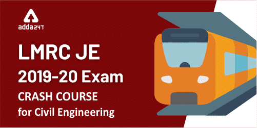 LMRC JE 2019-20 Exam   Crash Course For Civil Engineering_40.1