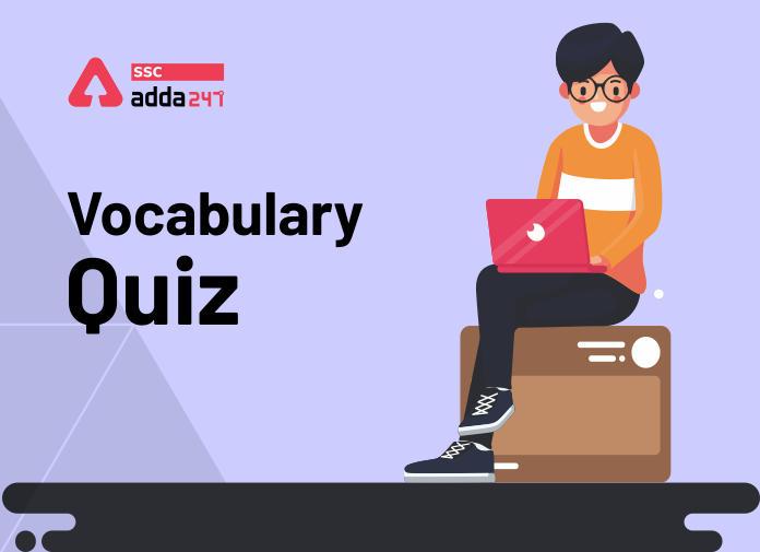 Vocabulary Quiz: 7th May_40.1