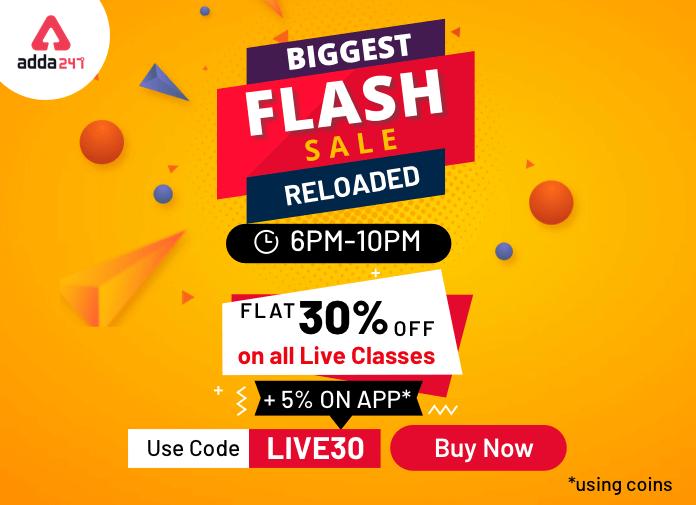 Flash Sale @6PM : Live Classes पर पाएं 30% की छूट_40.1