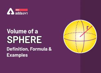 गोले का आयतन: परिभाषा, सूत्र और उदाहरण_40.1