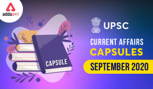 UPSC मंथली करंट अफेयर्स कैप्सूल: सितंबर 2020_40.1