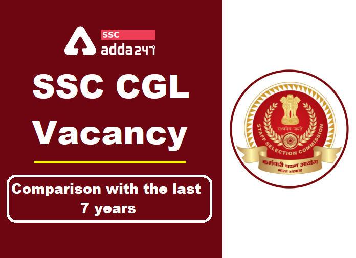 SSC CGL वैकेंसी : पिछले 7 वर्षों के साथ तुलना_40.1