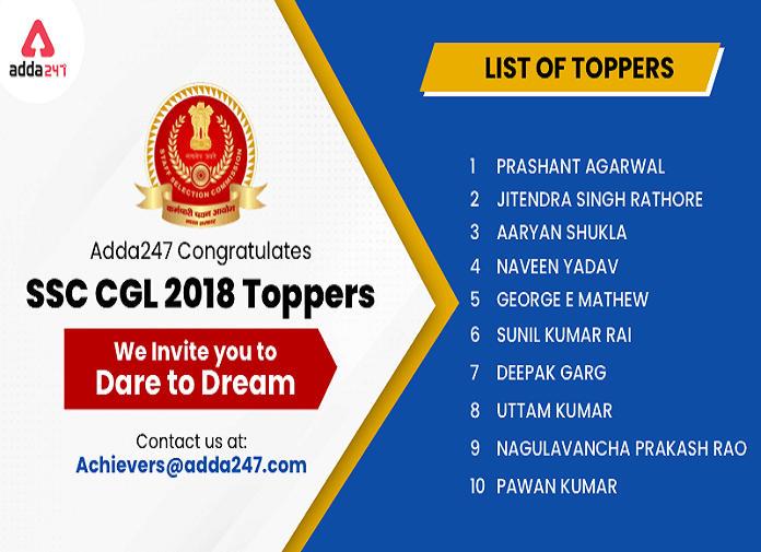 डेयर टू ड्रीम: SSC CGL 2018 टॉपर्स_40.1