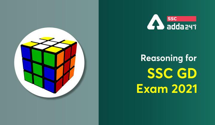 SSC GD परीक्षा 2021 के लिए रीजनिंग के प्रश्न : 04 अक्टूबर_40.1