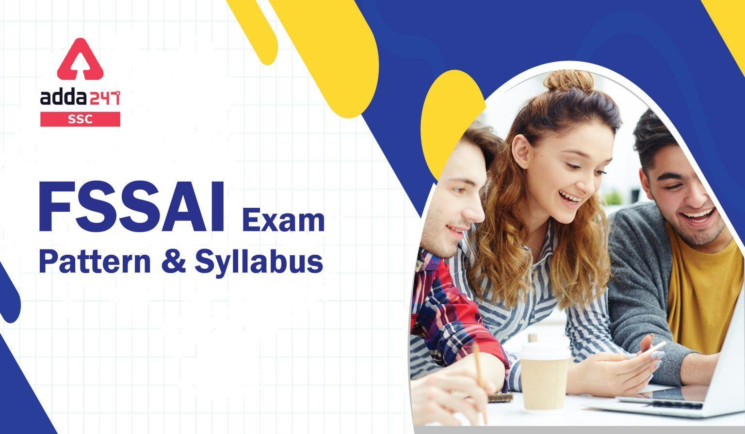 FSSAI Exam Pattern & Syllabus in Hindi : यहाँ देखें FSSAI का कम्पलीट सिलेबस और एग्जाम पैटर्न_40.1