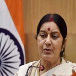 EAM Sushma Swaraj In Qatar On 1st Leg of Her 2-Nation Visit