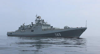 India Signs $950 Million Contract With Russia To Buy Two Stealth Frigates