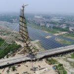 Delhi CM Inaugurates Signature Bridge