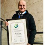 Anupam Kher Gets 'Distinguished Fellow' Award