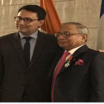 Jawahar Lal Sarin Conferred With France's Highest Civilian Honour