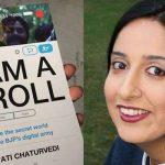 Swati Chaturvedi Won Press Freedom Award For Courage In UK