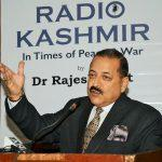 Jitendra Singh Releases Book 'Radio Kashmir-In Times of Peace & War' By Rajesh Bhat