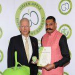 MAHE Wins International Green Apple Silver Award