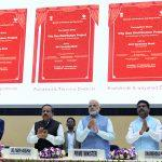 PM Modi Laid Foundation Stones of City Gas Distribution Projects