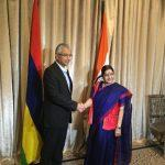 Sushma Swaraj Co-Chairs 9th Meeting of India-Lao PDR Joint Commission