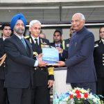 Admiral Sunil Lanba Released Book Titled 'Blue Waters Ahoy!'