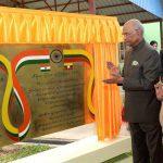 President Kovind Dedicates ACARE Project To People Of Myanmar