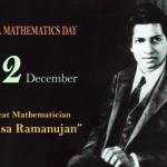 National Mathematics Day: 22nd December
