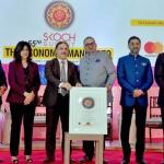 Union Minister Suresh Prabhu Confers Skoch Golden Jubilee Challenger Award