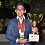 Aadi Sai Vijaykaran Wins 'Top Debater In The World' Title