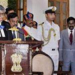 Justice TBN Radhakrishnan Sworn In As 1st Chief Justice of Telangana High Court