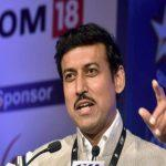 Rajyavardhan Rathore Launched 'National Youth Parliament Festival 2019'