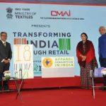 Smriti Irani Launches India Size Project in Mumbai