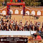 International Annual Desert Festival Held In Jaisalmer