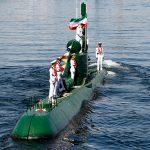 Iran's First Semi-Heavy Missile-Equipped Submarine Fateh Unveiled