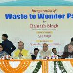 HM Rajnath Singh Inaugurates Waste To Wonder Park In Delhi