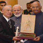 President Conferred 'Gandhi Peace Prize'