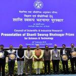 PM Modi Confers Shanti Swarup Bhatnagar Prizes For Science & Tech