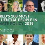 """7 Indians Marked In """"World's 100 Most Influential People in Climate Policy for 2019"""""""