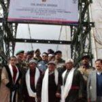 Indian Army Builds Longest Suspension Bridge Over River Indus In Leh-Ladakh