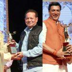Salim, Helen and Bhandarkar Get Deenanath Mangeshkar Award 2019